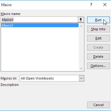 Macro-Dialog-Box
