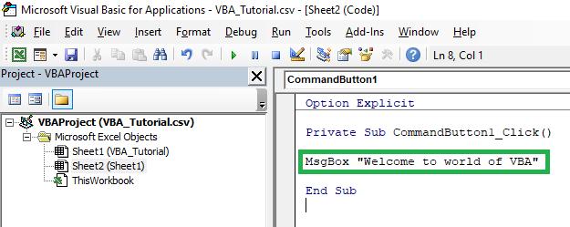 Write-VBA-Code-in-Excel-Macro