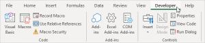 developer-tab